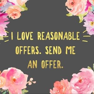 ✨ACCEPTING REASONABLE OFFERS ✨